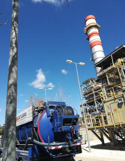 Trabajos de mantenimiento en instalaciones industriales